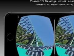 Phantom's Revenge Roller Coaster VR 360 1.0 Screenshot