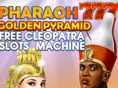 Pharaoh 777 Golden Pyramid - Free Cleopatra Slots Machine 1.0 Screenshot
