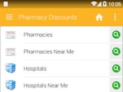 Pharmacy Discounts 6.4.2 Screenshot
