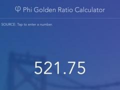 Phi Golden Ratio Calculator 2.0 Screenshot