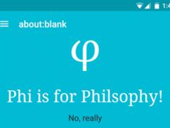 Phi - Philosophy Books 1.0 Screenshot