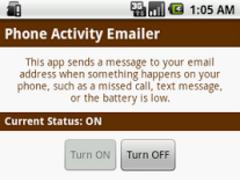 Phone Activity Emailer 1.1 Screenshot