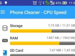 Phone Cleaner - CPU Speed 1.1 Screenshot
