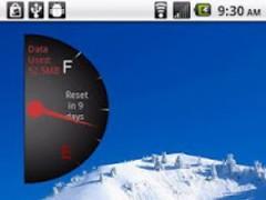 Phone Usage Gauge Widget 1.2 Screenshot