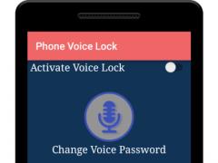 Phone Voice Lock 1.4 Screenshot