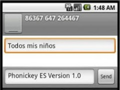 Phonic Keyboard Spanish 1.0 Screenshot
