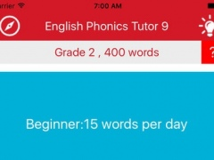 Phonics Tutor 10 — Learn 400 words using phonics. The easiest way of memorizing English words. 2.2 Screenshot