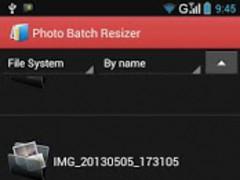 Photo Batch Resizer 1.0.4 Screenshot