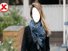 Photo Edit Girls Jeans & Scarf 1.0 Screenshot