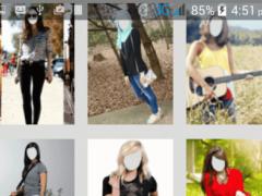 photo Editor - Girls in Jeans 1.0 Screenshot