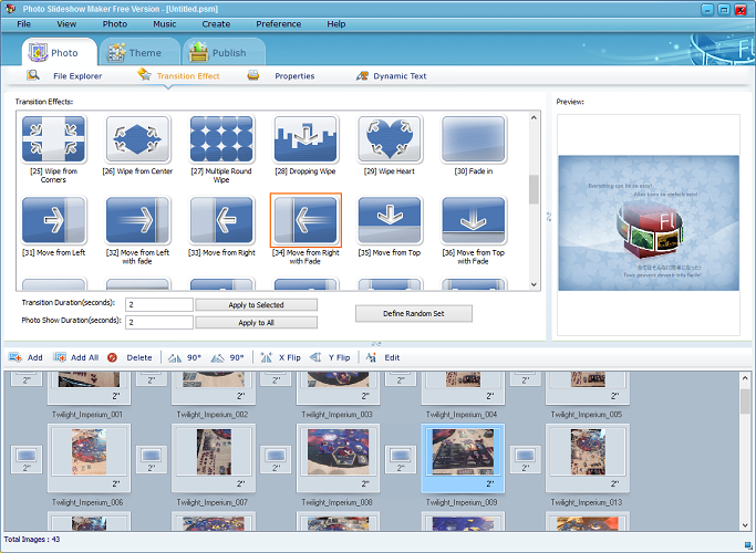 Photo Slideshow Maker Free Version 558 Free Download