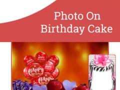 Photo On Birthday Cake 1.1.3 Screenshot