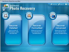 Photo Recovery (Win) Software 2.0.0 Screenshot