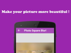 Photo Square Blur! 1.2 Screenshot