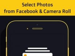 Photos to Gif & Video Maker- Social photos to Gif 1.0 Screenshot
