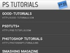 Photoshop Tutorials 1.5 Screenshot