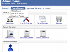 PHP AdminPanel Website Back End Script 3.7.1 Screenshot