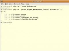 php-saurus 0.2b Screenshot