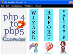 PHP4 to PHP5 Converter 1.0 Screenshot