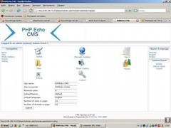 PHPEcho CMS 2.0 Screenshot