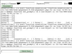 PHPeShell  Screenshot