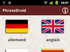 PhraseDroid 2.0.1 Screenshot