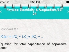 Physics - Electricity & Magnetism/2300 Flashcards, Formulas, Study Notes & Exam Prep 1.0 Screenshot