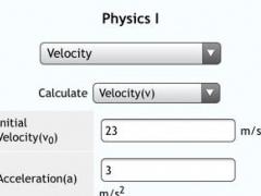 Physics I 1.0 Screenshot
