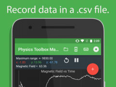 Physics Toolbox Magnetometer 1.4.2 Screenshot