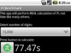 PI Benchmark 1.0 Screenshot