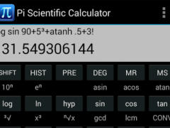 Pi Scientific Calculator 2.0.1 Screenshot