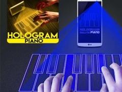 Piano Hologram simulator 1.3 Screenshot