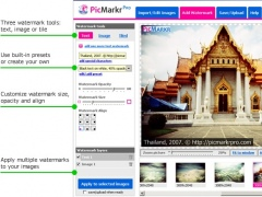 PicMarkr Pro Image Watermarker 1.0.0.1 Screenshot