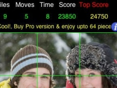 PicZee Free - The cool and fun photo jigsaw puzzle 1.0 Screenshot