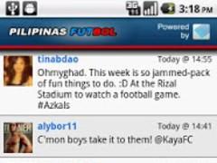 Pilipinas Futbol 1.0 Screenshot