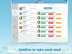 Pill Monitor for iPad - Medication Reminder & Log 4.1.1 Screenshot