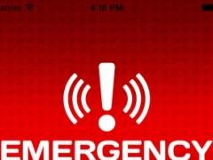 Ping Us, Emergency app 1.0 Screenshot