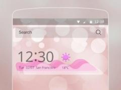 Pink bubble theme 1.1.4 Screenshot