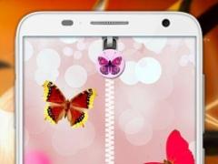 Pink Butterfly Zip Unlock 1.5 Screenshot