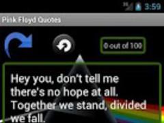 Pink Floyd Quotes 1.0 Screenshot