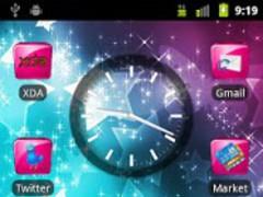 Pink Gloss Go Launcher Theme 9.0 Screenshot