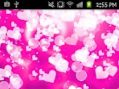 Pink Heart Love 1.0 Screenshot