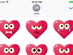 Pink Heart Stickers 1.0 Screenshot