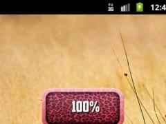 Pink Leopard Battery 1.6 Screenshot