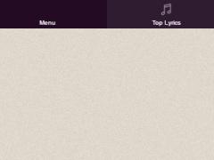 Pink Lyrics 1.2 Screenshot