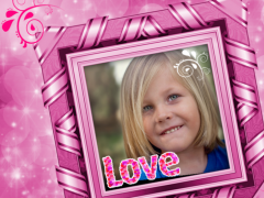 Pink Photo Frames Editor 1.0 Screenshot