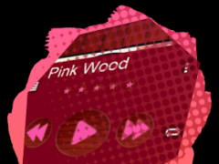 Pink Wood PlayerPro Skin 4.1 Screenshot