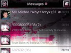 Pink Zombie GO SMS Theme 1.7 Screenshot