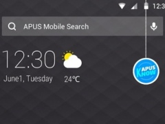 Black simple business -APUS Launcher free theme 706 Screenshot