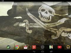 3D Pirate Flag Live Wallpaper 3.1.3 Screenshot